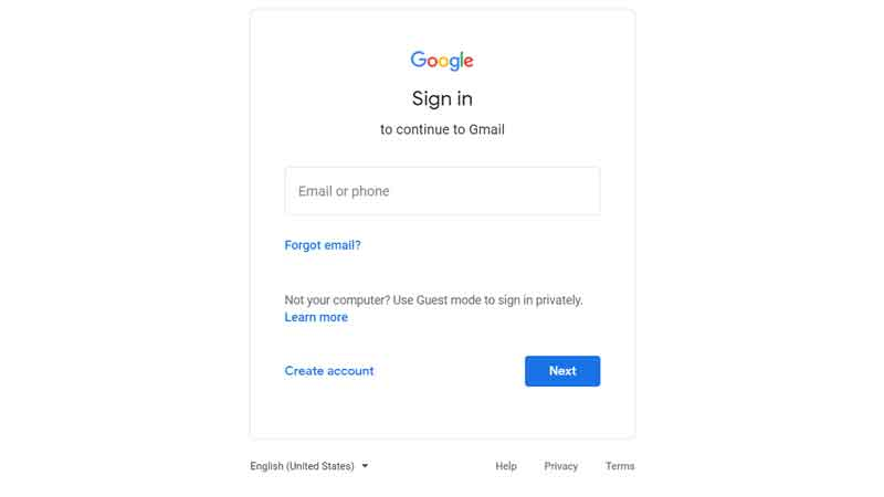 google-gmail-login
