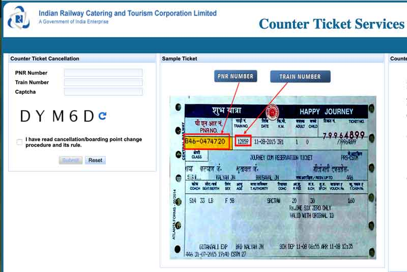 Counter-Ticket-Cancellation-page