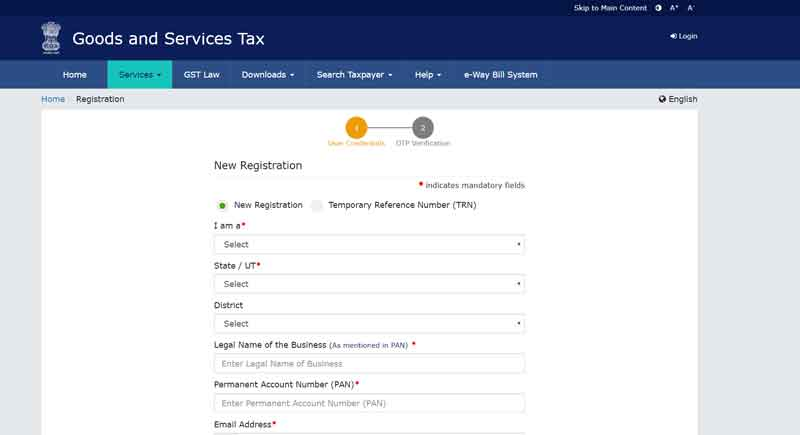 Goods-and-Services-Tax--GST-form
